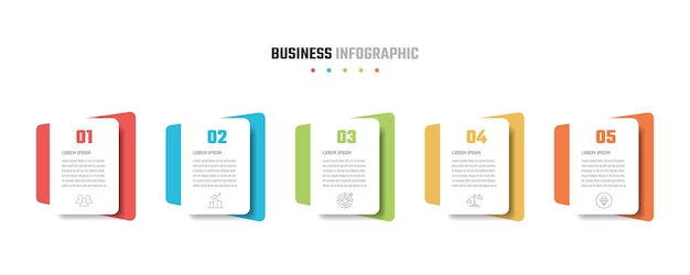 비즈니스 infographic 디자인, 벡터 일러스트