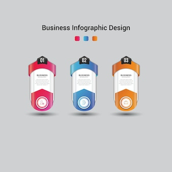 비즈니스 인포 그래픽 디자인