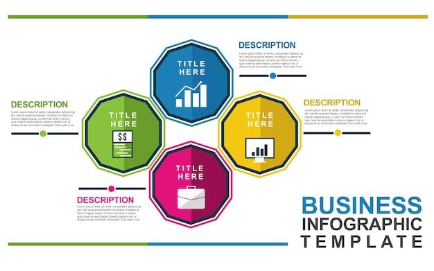 Бизнес-инфографический шаблон