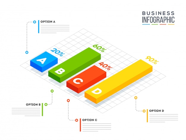 Business infographic.