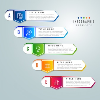 Business infographics illustration