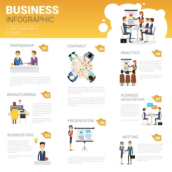 Business Infographics Set