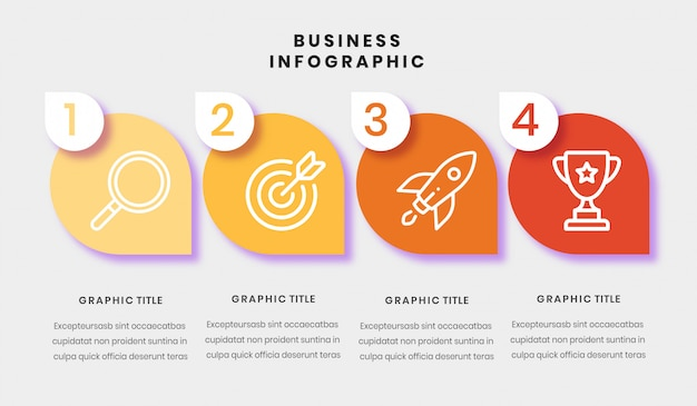 Business infograpic template
