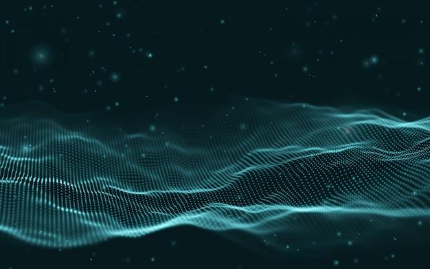 Business inteligence technology background.