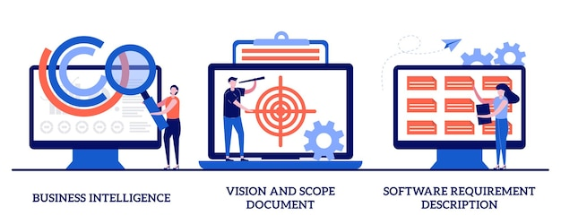 Документ бизнес-аналитики, видения и области применения