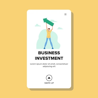 Business investment finance consultant