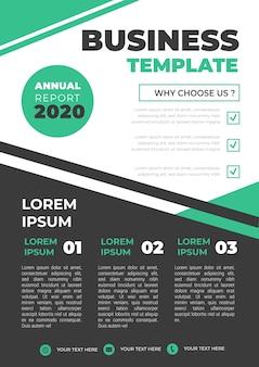 Modello di layout aziendale