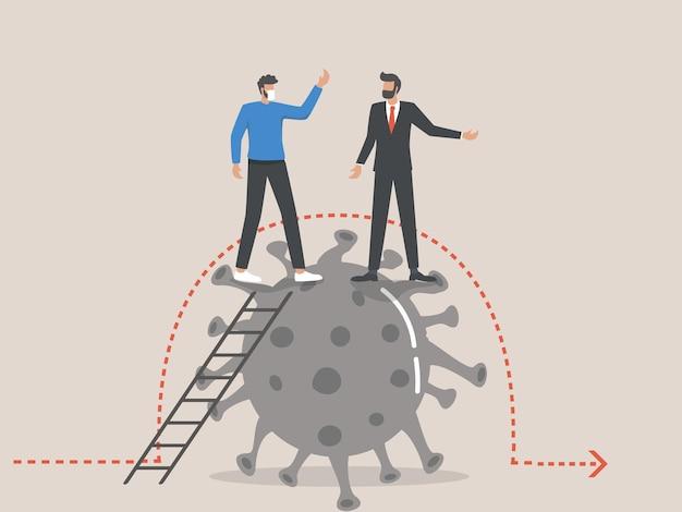 비즈니스 리더는 covid 이후 경제 로드맵을 요구합니다.