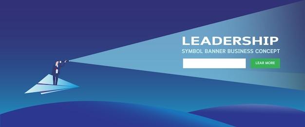 Business leadership webpage
