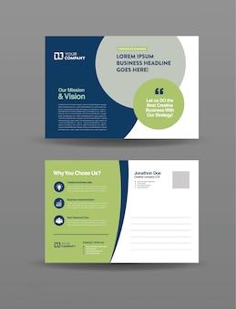 Business mail postcard