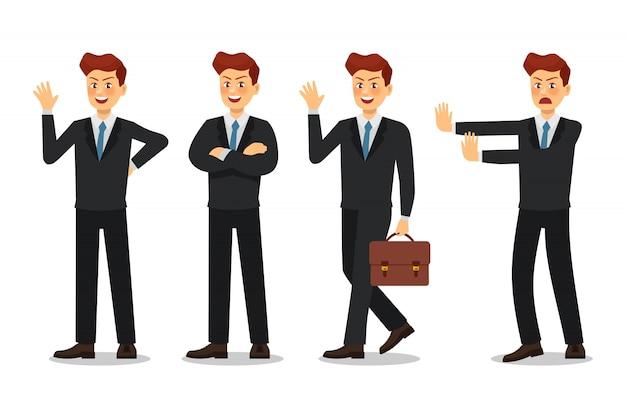 Business man character design