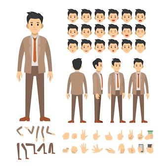 Business man character set