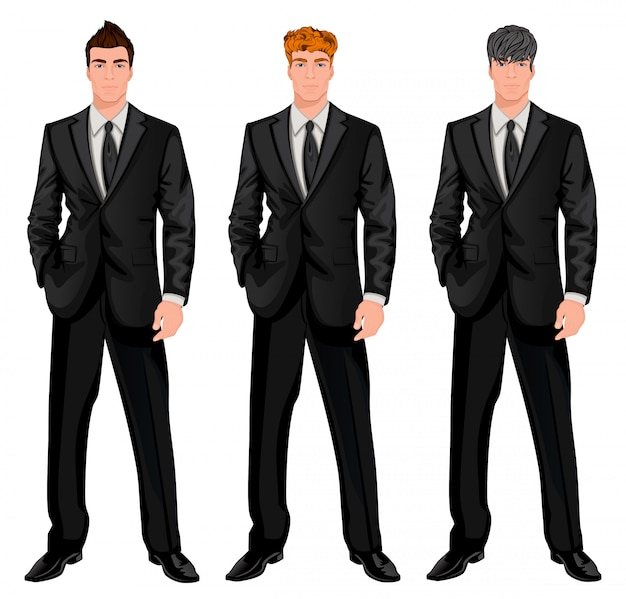 Business man character set