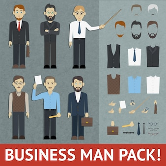 Pack di uomo d'affari