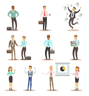 Business man and woman character design 2