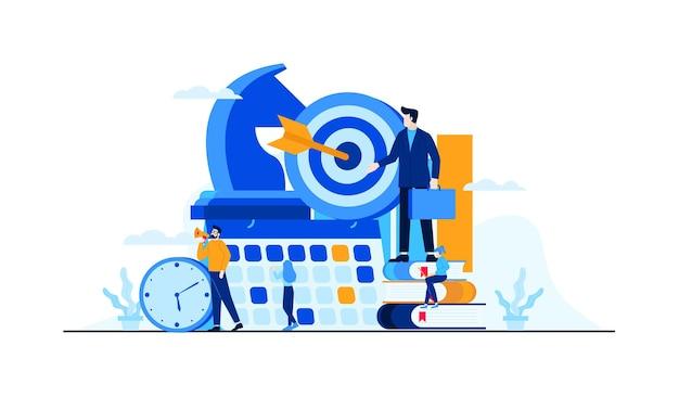 Стратегия управления бизнесом с персонажами мини людей.