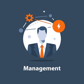 Business management, successful strategy