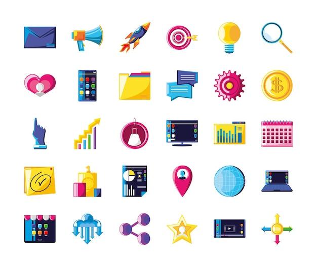 Business marketing icon