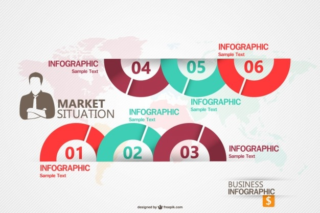 Бизнес маркетинг infograhic шаблон