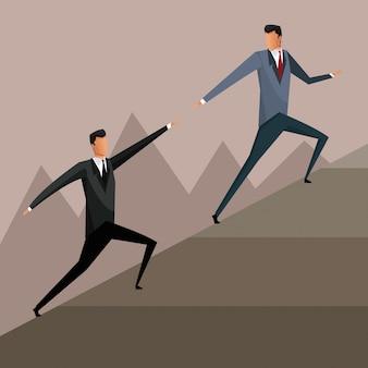 Дизайн решения для совместной работы с бизнесменами