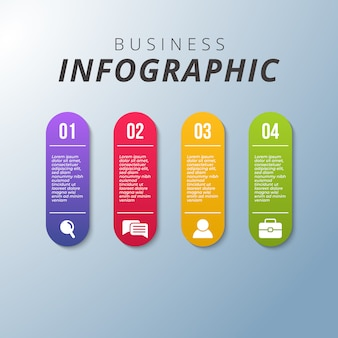 Business modern infographic