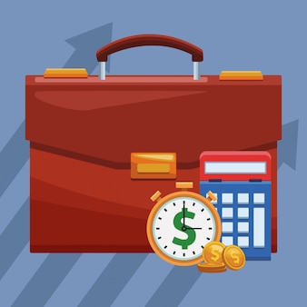 Business and money elements concept