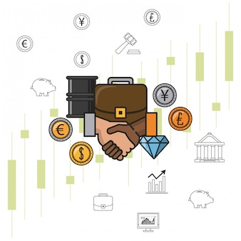 Business money and investments