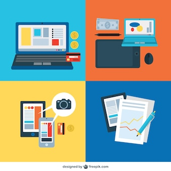 Business office equipment