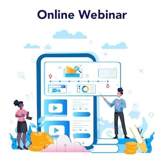 Business online service or platform