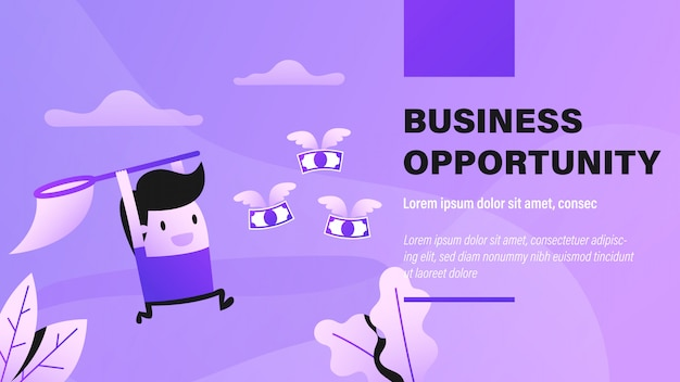 Business opportunity banner