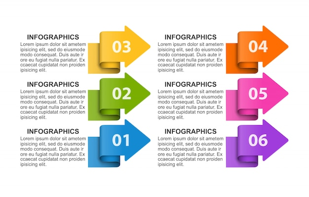 Business options infographic, timeline, design template.