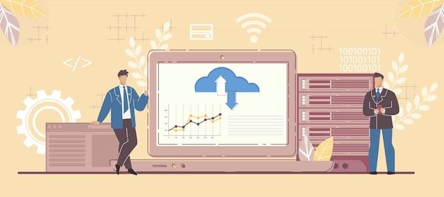 ビジネスパートナーとsaasプラットフォームの柔軟性