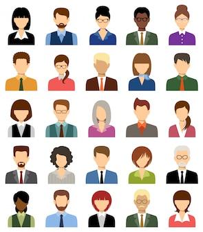 Business people avatars