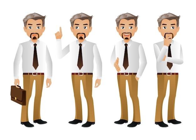 Деловые люди группы аватары персонажей