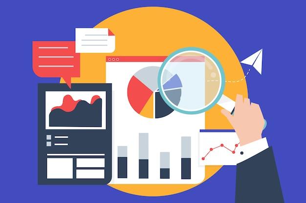 그래프를 통한 비즈니스 성과 분석