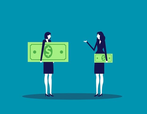 Деловое лицо и разные доходы