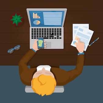 Business personal finance cartoon