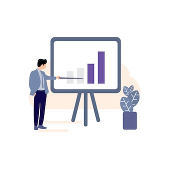Business plan icon, business growth , progress graph icon, success icon, successful business , business men