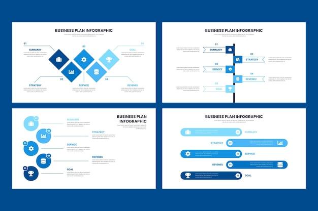 Бизнес план инфографики дизайн