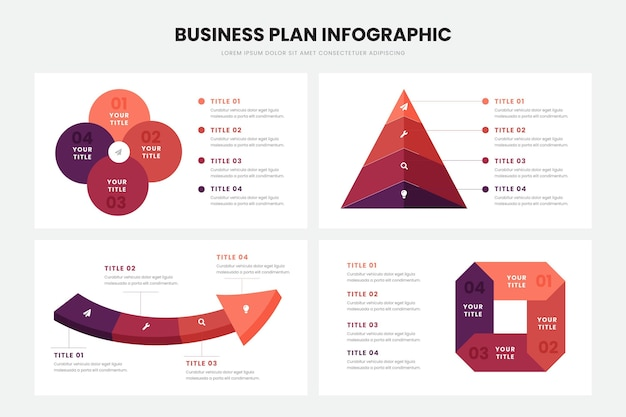Business plan infographic