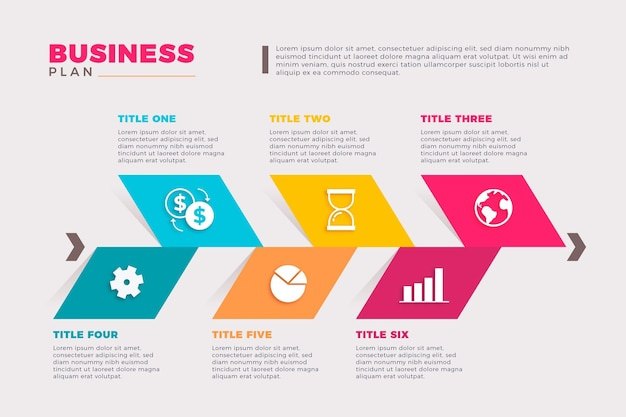 Бизнес план инфографики
