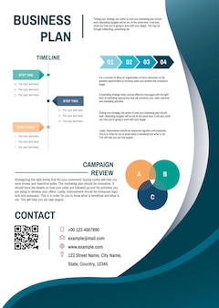 Modello di business plan