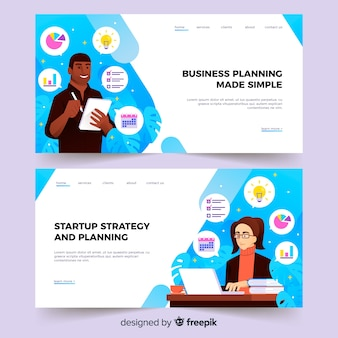 Бизнес-планирование целевой страницы