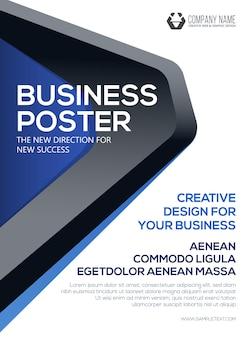 ビジネスポスターチラシテンプレートビジネス用ポスターカバープレゼンテーション