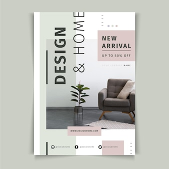 Business poster template Free Vector