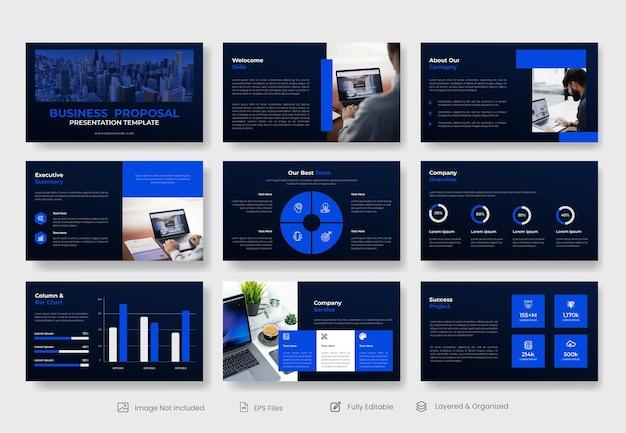 비즈니스 파워포인트 프레젠테이션 슬라이드