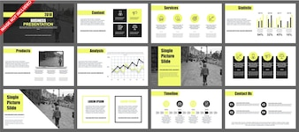 Powerpoint template vectors photos and psd files free download business powerpoint presentation slides templates from infographic elements wajeb Choice Image