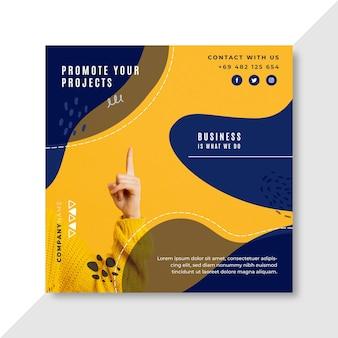 Business presentation concept