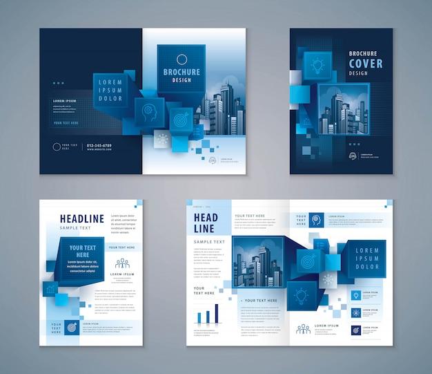 Business presentation design template