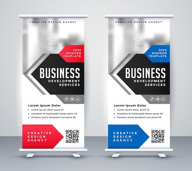 Business presentation flyer for company presentation